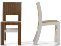 kartonová židle