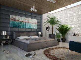 Oblékněte ložnici moderně. Jaké jsou interiérové trendy v roce 2017?